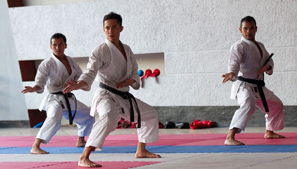 Kata Karate Aliran Shotokan Nomor 11-18 Dan Artinya