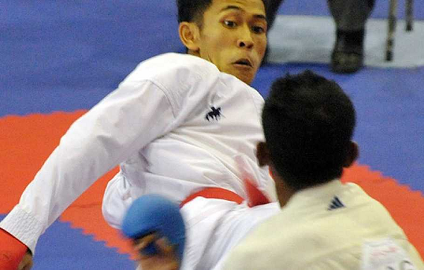 Para Atlet Karate Dunia Juara Internasional